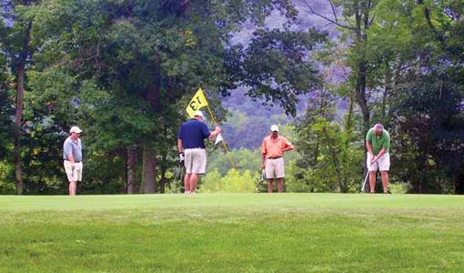 golf in the Alleghany Highlands
