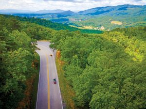 Scenic Drive along Route 220