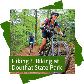 Hiking and Biking at Douthat State Park